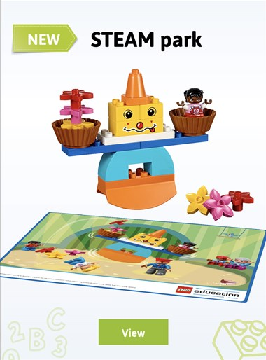 New LEGO Education Duplo STEAM Park