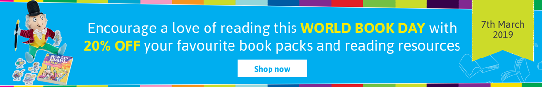20% OFF your favourite book packs and reading resources