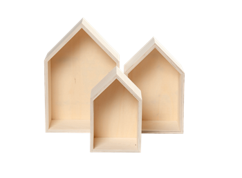 House Wooden Discovery Boxes