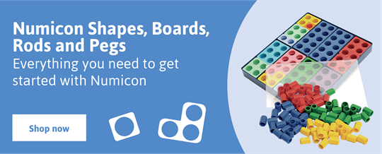 Numicon Boards, Rods and Pegs
