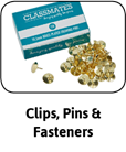 Clips, Pins & Fasteners