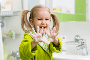 8 great ways to encourage children to wash their hands