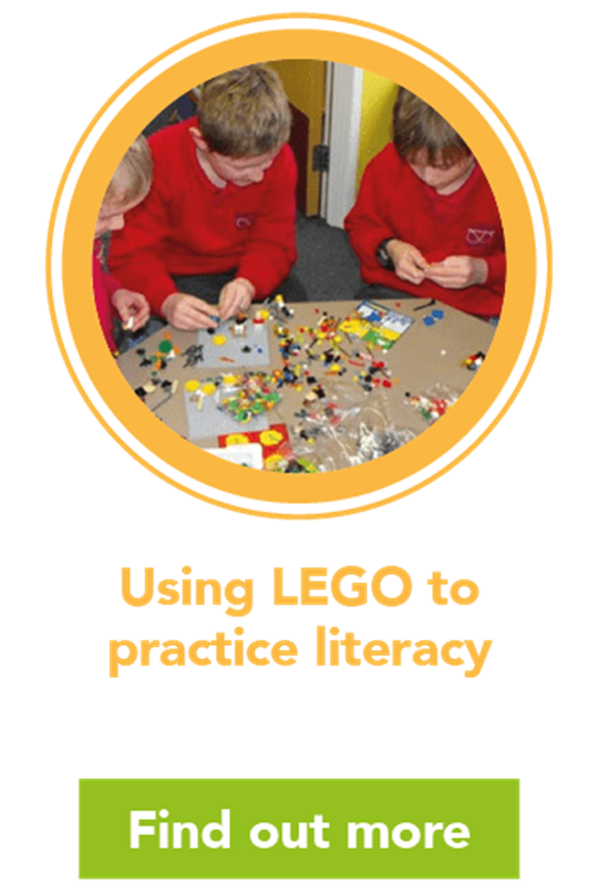 Using LEGO to practice literacy