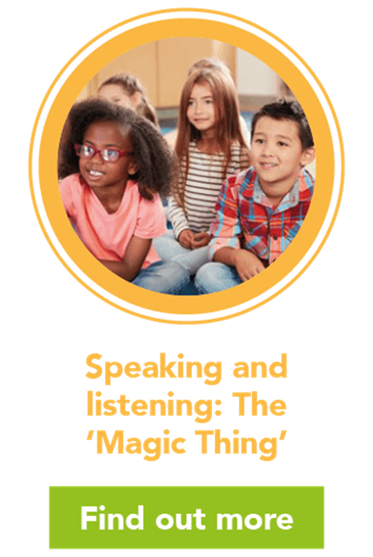 "Speaking and listening: ""The Magic Thing"""