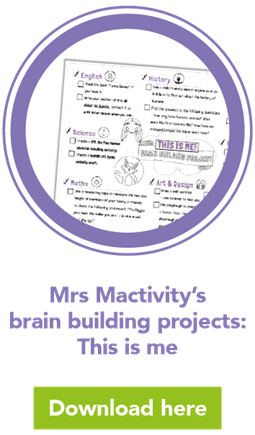 Mrs Mactivity's brain building projects: This is me