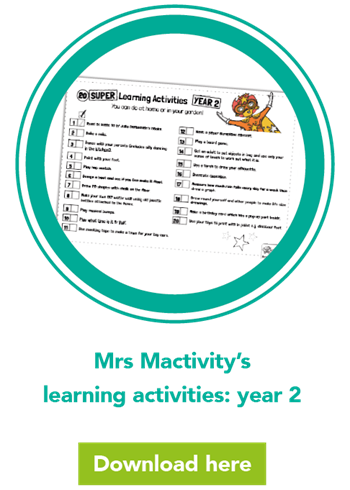 Mrs Mactivity's learning activities: year 2