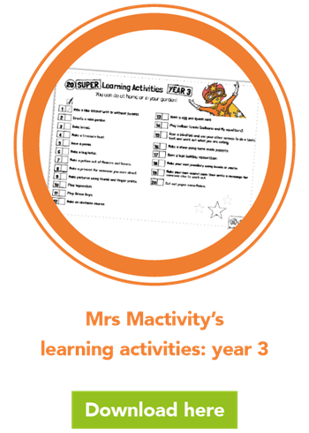 Mrs Mactivity's learning activities: year 3