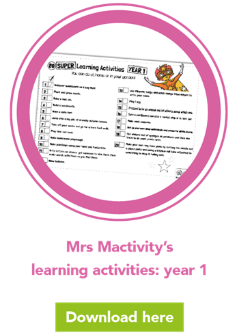 Mrs Mactivity's learning activities: year 1