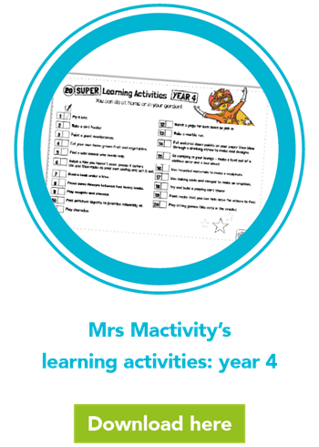 Mrs Mactivity's learning activities: year 4
