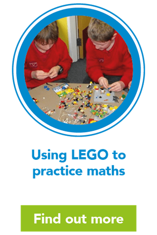 Using LEGO to practice maths
