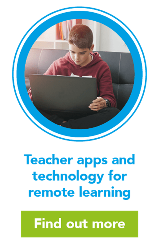 Teacher apps and technology for remote learning