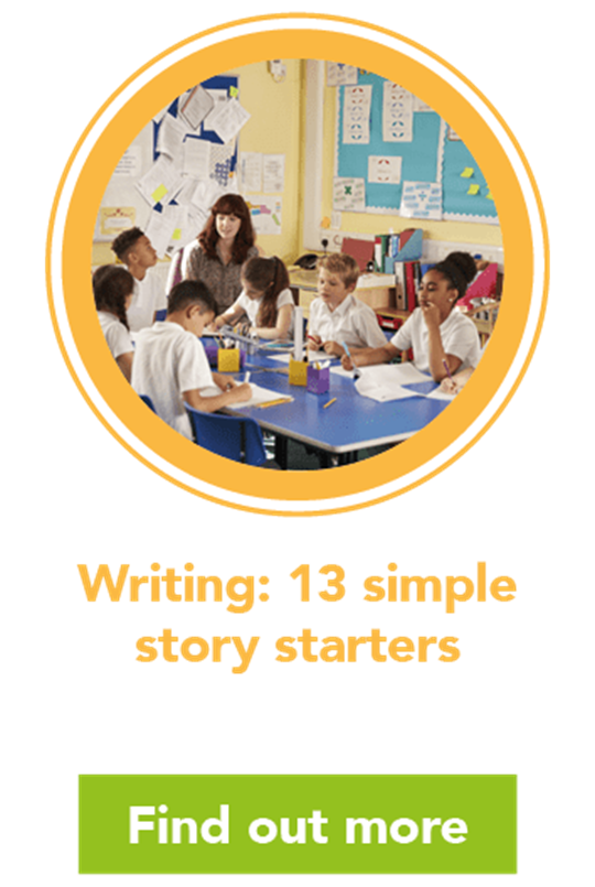 Writing: 13 simple story starters
