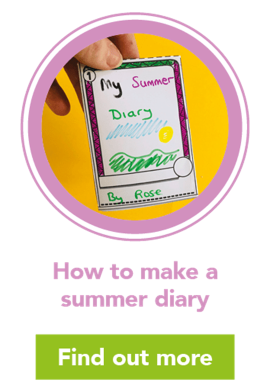 How to make a summer diary