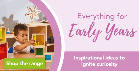 Everything for early years - inspirational ideas to ignite curiosity
