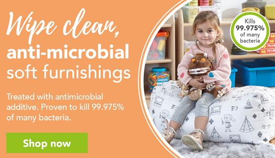 Wipe Clean Antimicrobial Soft furnishings