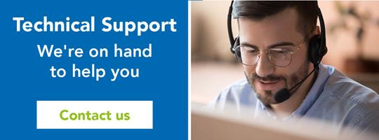 Technical support. We're on hand to help