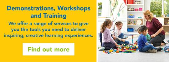 Demonstrations, workshops and training