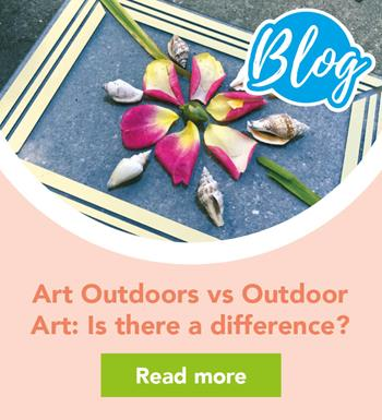 Art Outdoors vs Outdoor Art: Is there a difference?