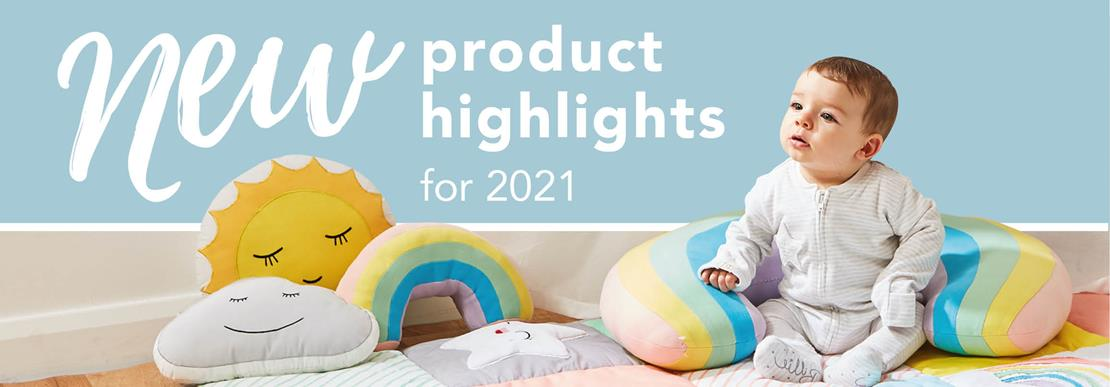 New product highlights for 2021